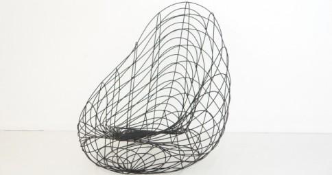 Poltrona Uovo Sdraiato - Serie Minimalisti