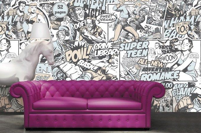 tappezzeria murale : CARTA DA PARATI CHE PASSIONE! ARTE NEWS Arte News