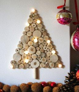 Albero-Natale-Dischi-Legno