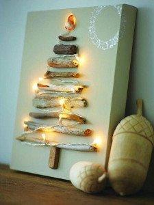 albero-natale-legno-lucine-fai-da-te